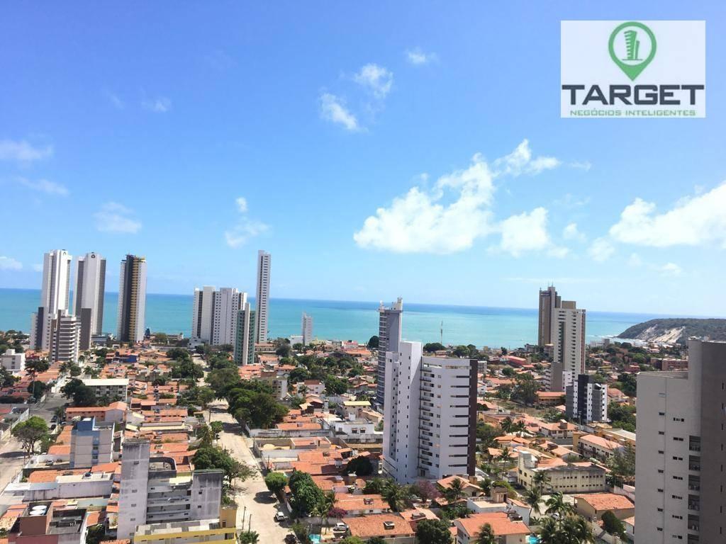Apartamento com 3 dormitórios à venda, 95 m² por R$ 450.000,00 - Ponta Negra - Natal/RN