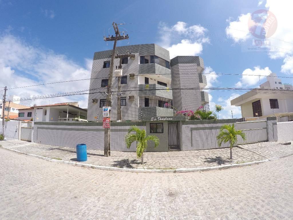Apartamento residencial à venda, Bessa, João Pessoa - AP0214