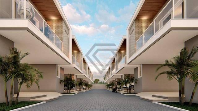 Sobrado 3 Suítes, 139 m² c/ lazer à Venda na Graciosa - Res. Quintas do Lago