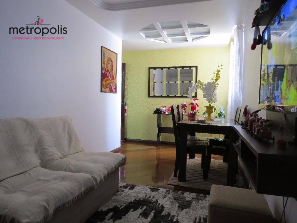 Apartamento residencial à venda, Osvaldo Cruz, São Caetano do Sul.