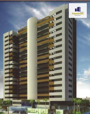 Apartamento com 3 dormitórios à venda, 143 m² por R$ 865.000 - Jardim Oceania - João Pessoa/PB