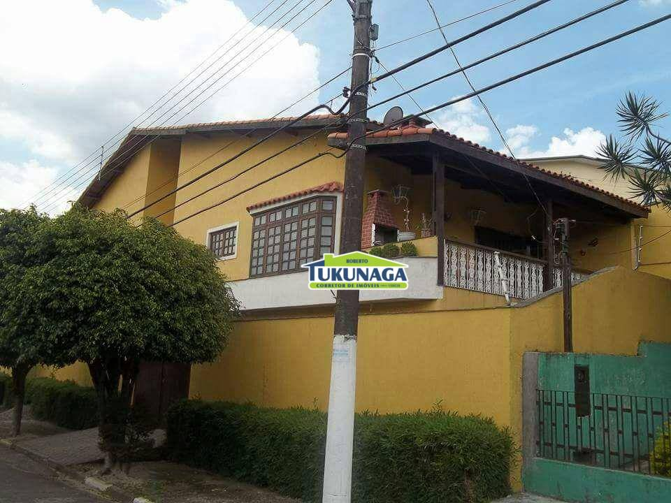 Sobrado residencial à venda, Centro, Arujá.