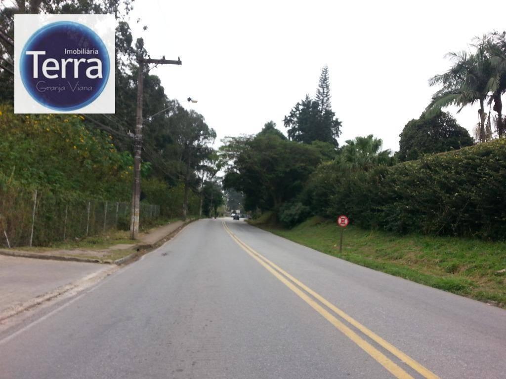 Terreno comercial à venda, Capuava, Granja Viana.