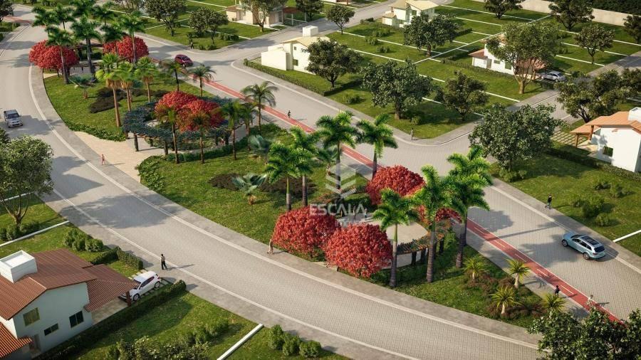 Lote à venda, 286 m² , Villa Reale, condomínio fechado, financia - Jucurutu - Aquiraz/CE