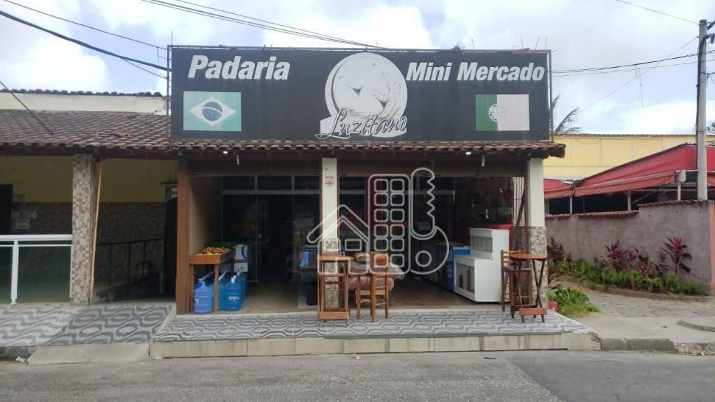 Ponto, 250 m² - venda por R$ 500.000,00 ou aluguel por R$ 5.000,00/mês - Itapeba - Maricá/RJ