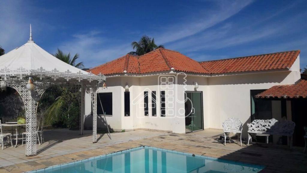 Casa residencial para venda e locação, Bananeiras, Araruama - CA0270.