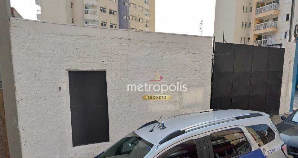 Galpão para alugar, 280 m² por R$ 4.500,00/mês - Centro - São Bernardo do Campo/SP