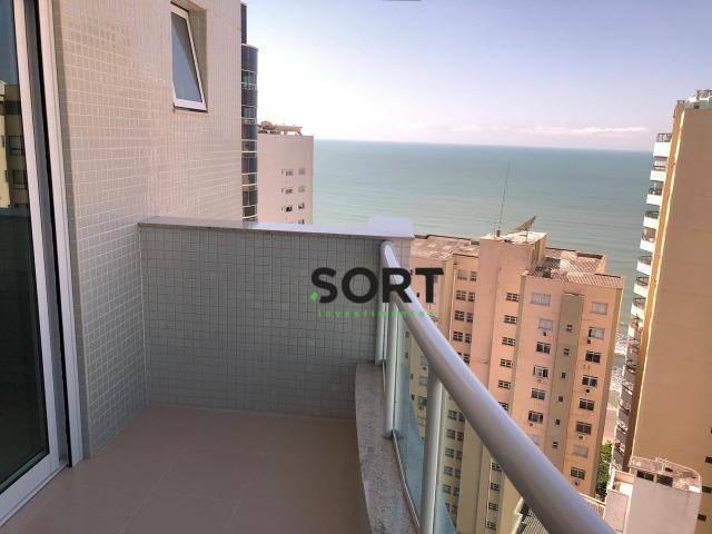 Vale dos Reis, Vista Mar Apartamento Mobiliado, Andar Alto, 3 suítes, 2 vagas de Garagem, Barra Sul