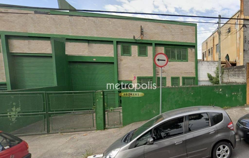 Galpão para alugar, 400 m² por R$ 7.500,00/mês - Conceição - Diadema/SP