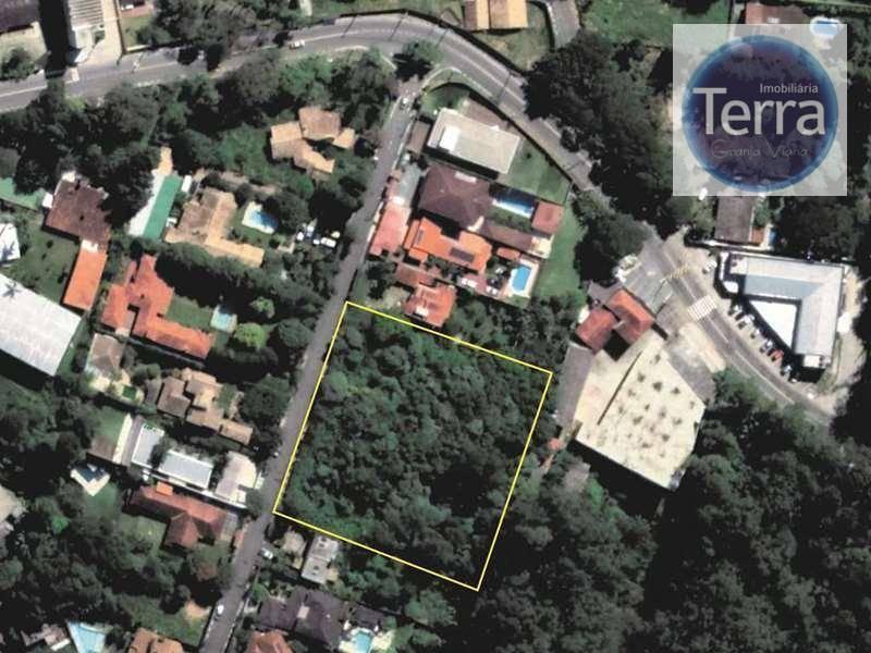 Área à venda, 4900 m² por R$ 1.600.000 - Chácara dos Lagos - Granja Viana