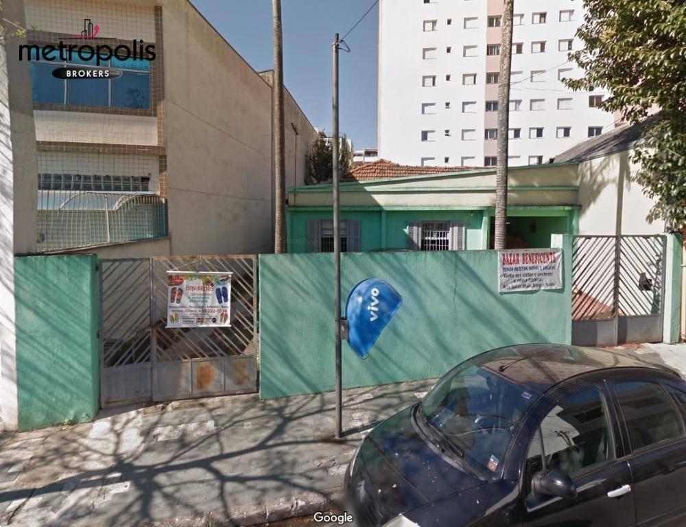 Terreno à venda, 378 m² por R$ 850.000,00 - Barcelona - São Caetano do Sul/SP