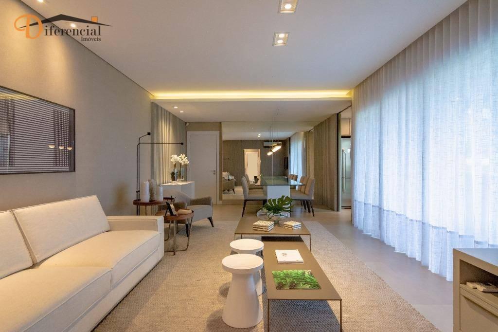 Apartamento com 3 dormitórios à venda, 108 m² por R$ 766.578,23 - Ecoville - Curitiba/PR