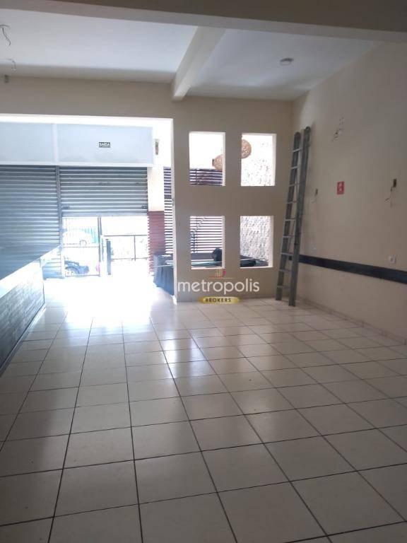 Salão à venda, 165 m² por R$ 950.000,00 - Santa Paula - São Caetano do Sul/SP