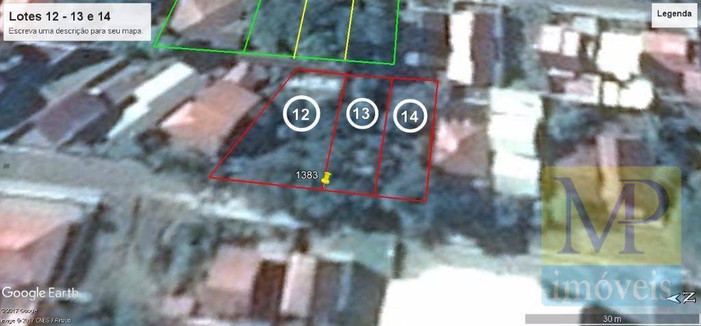 Terreno à venda, 461 m² por R$ 480.000,00 - Centro - Penha/SC