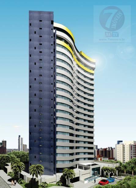 Apartamento residencial à venda, Miramar, João Pessoa - AP01