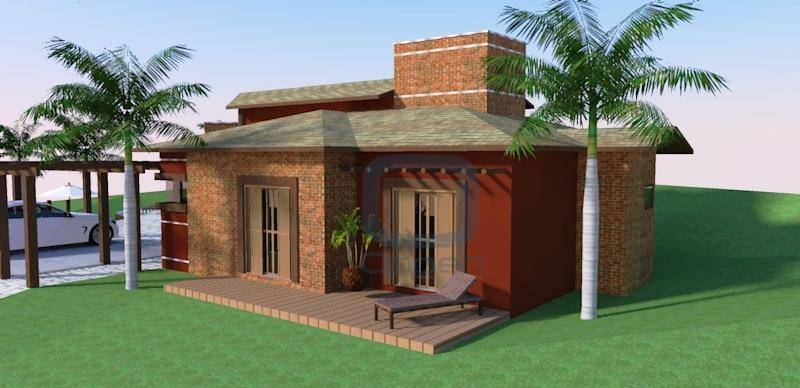 Casa residencial à venda, Chácara Monte Belo, Santo Antônio de Posse.