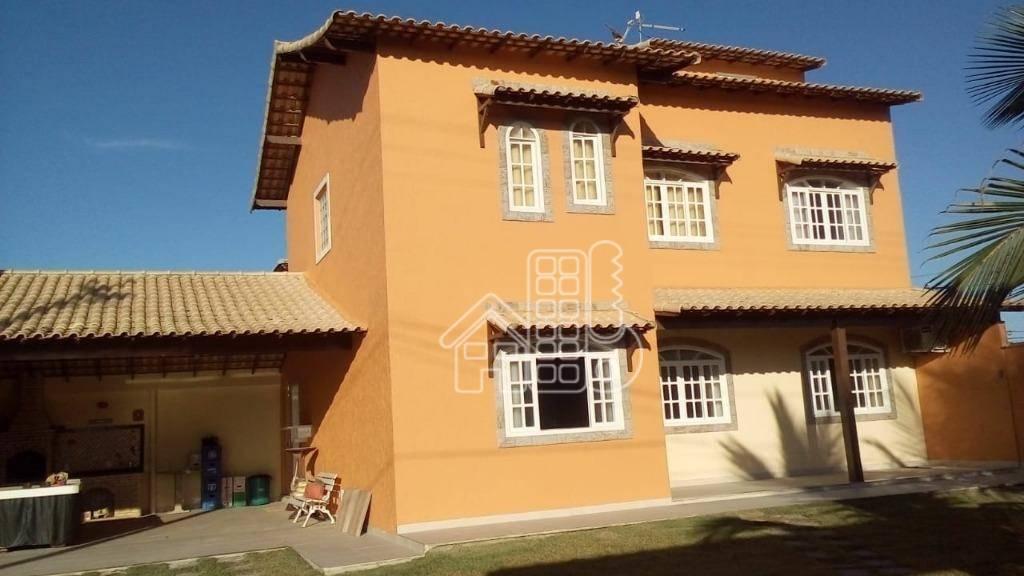 Casa com 4 dormitórios à venda, 350 m² por R$ 600.000 - Monte Alto - Arraial do Cabo/RJ