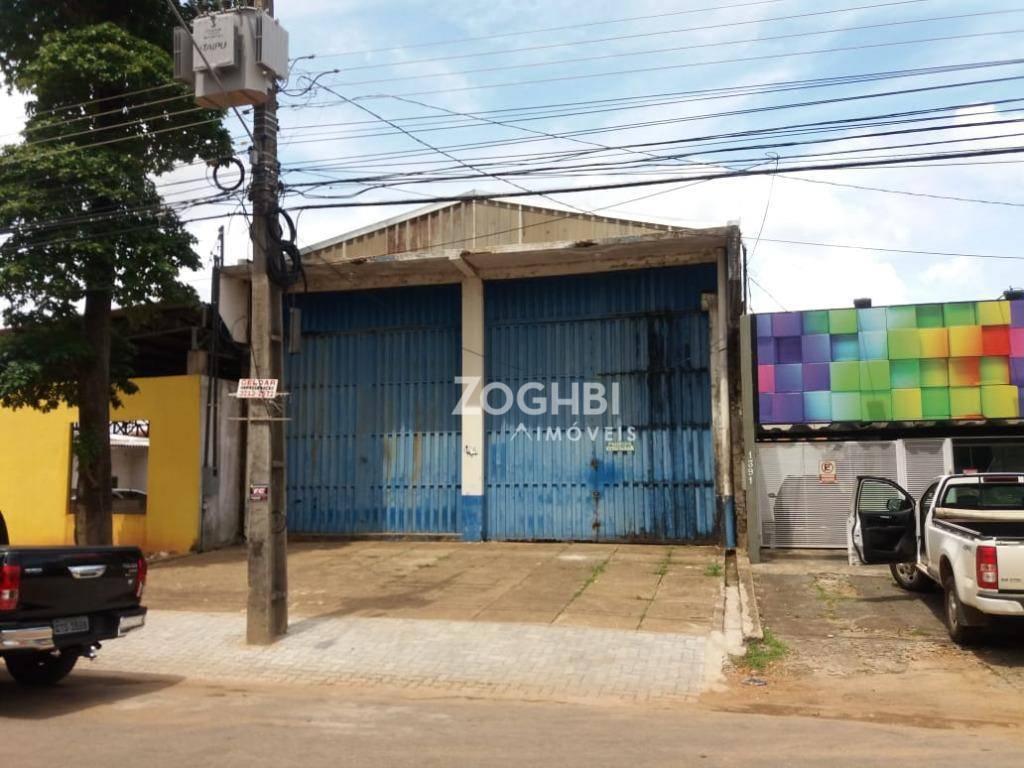 Galpão para alugar, 825 m² por R$ 7.000,00/mês - São Cristóvão - Porto Velho/RO
