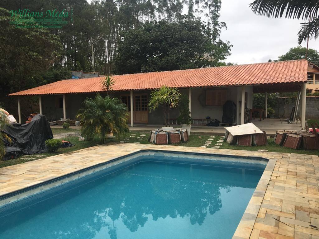 Chácara com 3 dormitórios à venda, 2200 m² por R$ 650.000 - Condomínio Hari Country Club - Santa Isabel/SP