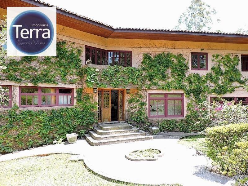 Casa residencial à venda e Locação, Vila Real Moinho Velho, Granja Viana