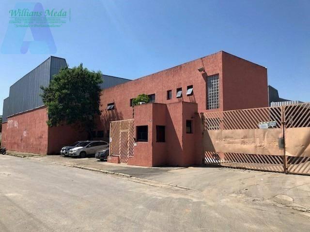 Galpão à venda, 2527 m² por R$ 5.500.000 - Bonsucesso - Guarulhos/SP. Locação R$ 40.000..