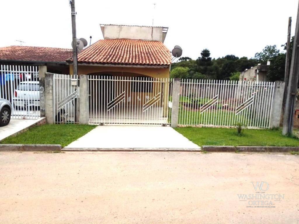 Casa com 3 dormitórios à venda, 180 m² por R$ 300.000 - Umbará - Curitiba/PR