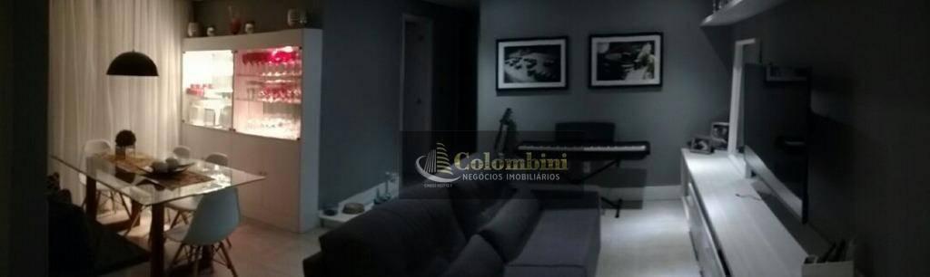 Apartamento com 3 dormitórios à venda, 86 m² - Vila Valparaíso - Santo André/SP