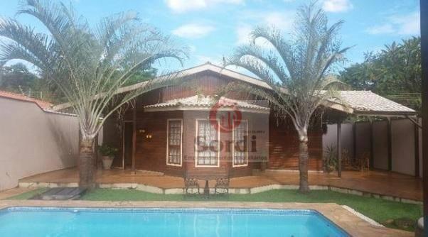 Casa residencial à venda, Parque Industrial Lagoinha, Ribeirão Preto.