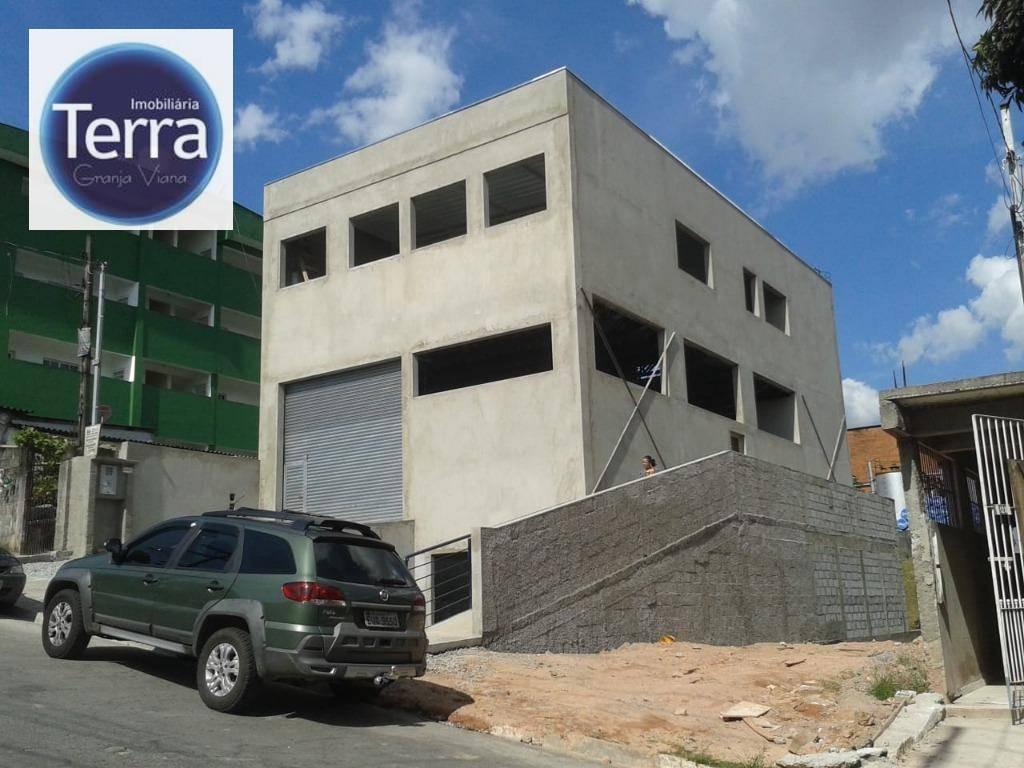 Galpão à venda, 433 m² por R$ 1.100.000 - Parque Alexandre - Cotia/SP