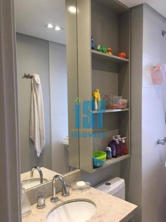 Apartamento com 2 dormitórios à venda, 148 m² por R$ 1.200.000,00 - Empresarial 18 do Forte - Barueri/SP