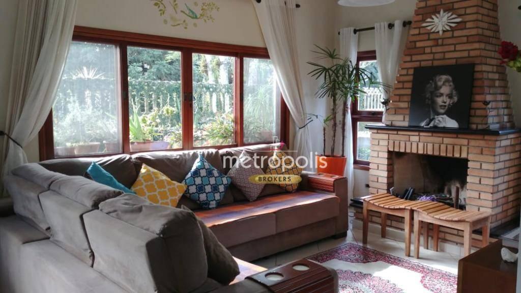 Sobrado com 4 dormitórios à venda, 288 m² por R$ 1.650.000 - Vila Albertina - Ribeirão Pires/SP