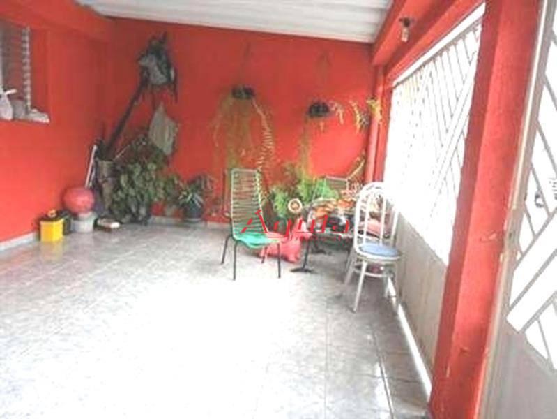 Casa residencial à venda, Nova Gerty, São Caetano do Sul - CA0183.