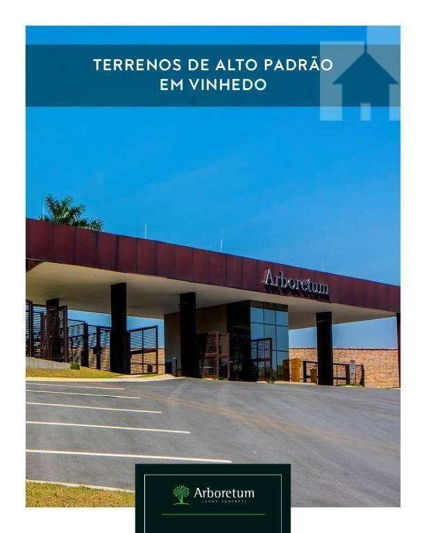 Terreno à venda, 630 m² - Arboretum Home Concept  - Centro - Vinhedo/SP