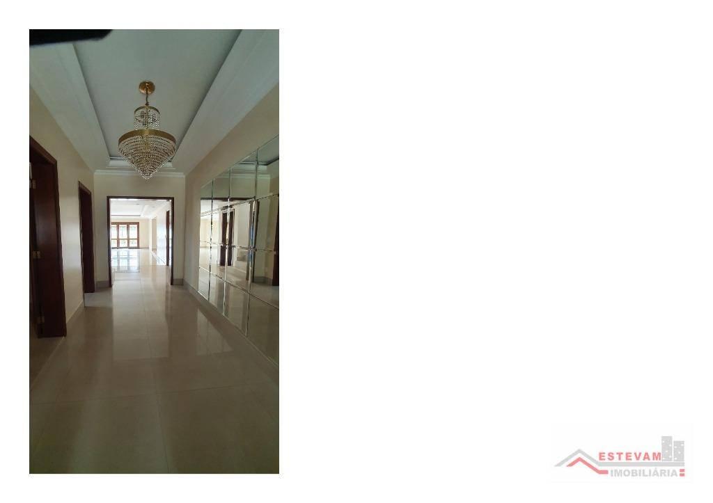 Sobrado com 4 dormitórios para alugar, 780 m² por R$ 12.000,00/mês - Alphaville Residencial 1 - Barueri/SP