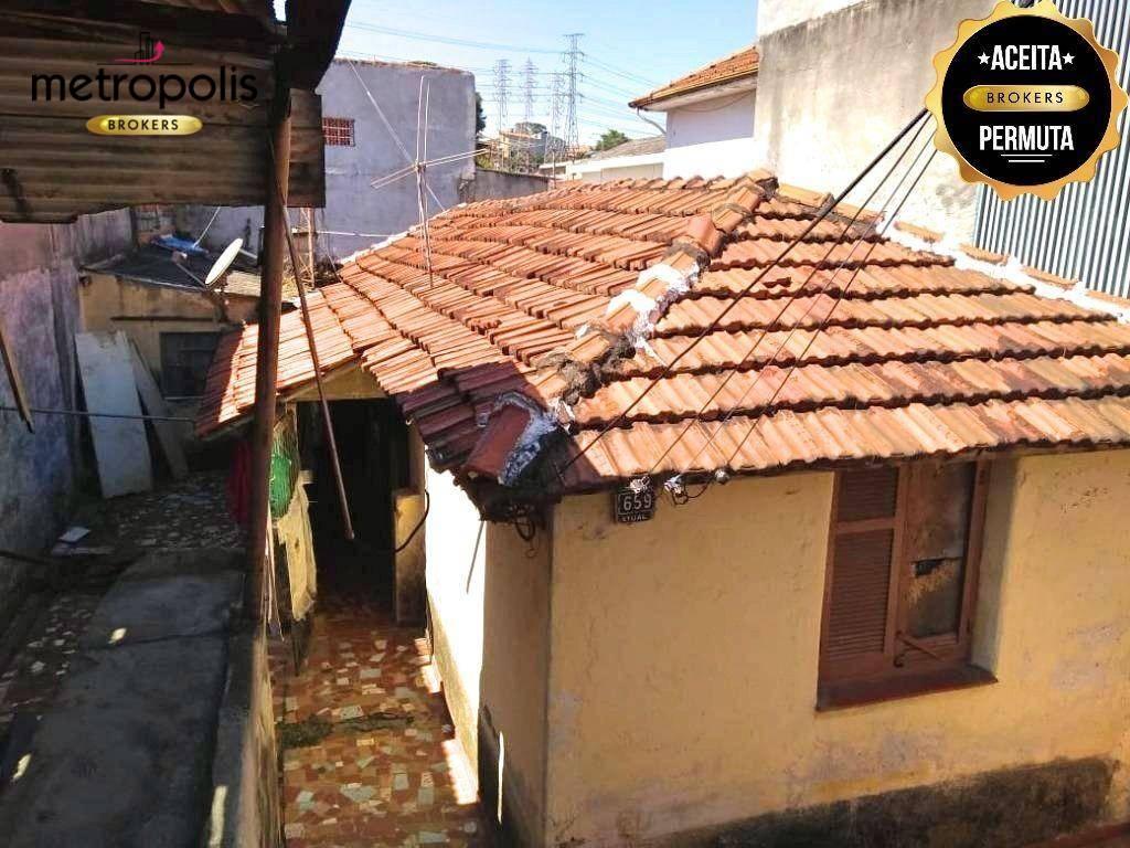 Terreno à venda, 210 m² por R$ 340.000,00 - Nova Gerti - São Caetano do Sul/SP