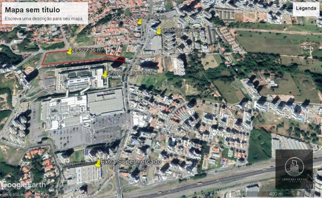 Área à venda, 28609 m² por R$ 150.000.000 - Parque Campolim - Votorantim/SP - AO LADO DO SHOPPING IGUATEMI.