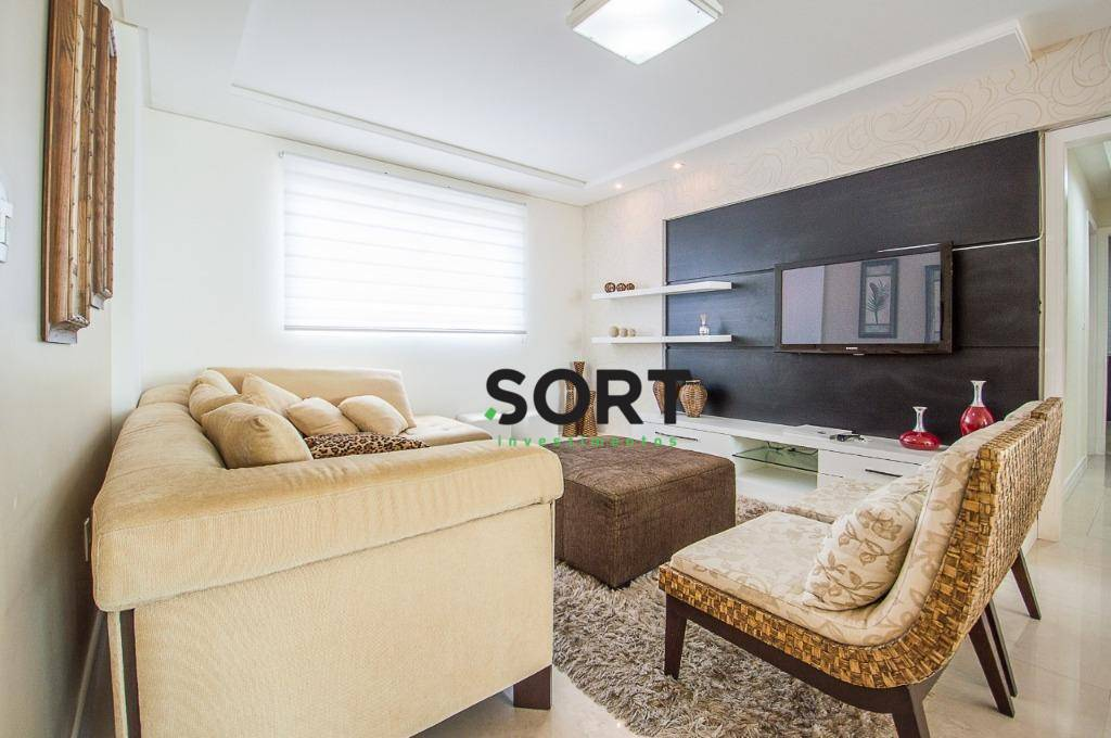 Apartamento Finamente Mobiliado, Solar de Tamarindo,  3 dorm.(1 suíte+2demis), 2 vagas, Balneário Camboriú