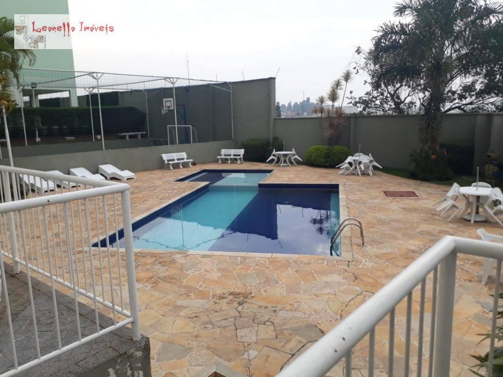 Apartamento com 3 dormitórios à venda por R$ 380.000 - Jardim São Luís - Suzano/SP