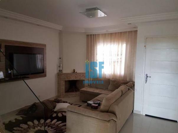 Sobrado com 3 dormitórios à venda, 130 m² por R$ 628.000 - Paisagem Renoir - Cotia/SP - SO4682.
