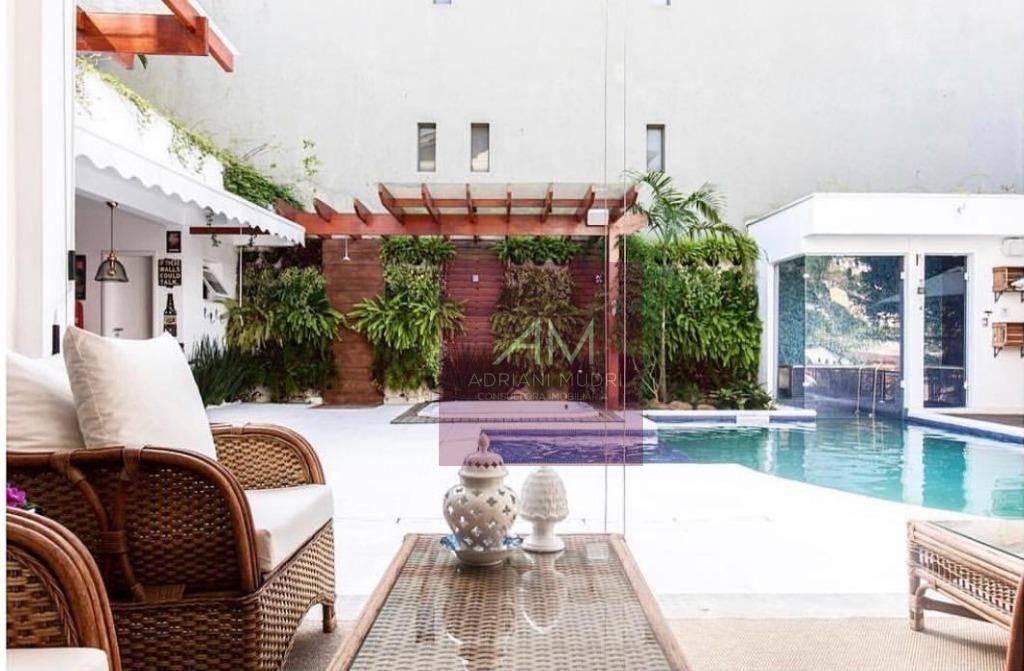 Esplêndido Sobrado Capa de Revista com 4 dormitórios à venda, 450 m² por R$ 2.500.000 - Centro Alto - Ribeirão Pires/SP
