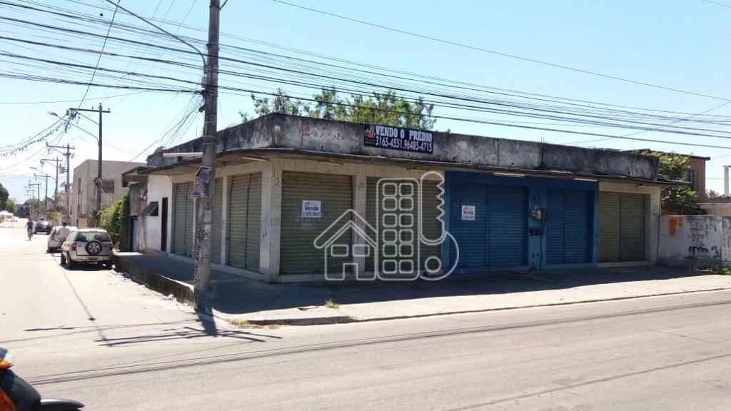 Loja à venda, 392 m² por R$ 265.000,00 - Jardim Catarina - São Gonçalo/RJ