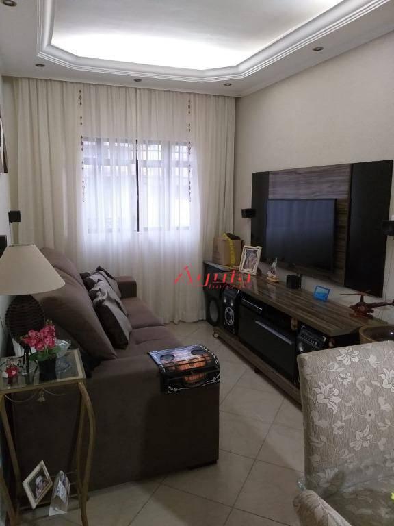 Apartamento com 2 dormitórios à venda, 75 m² por R$ 260.000 - Vila Curuçá - Santo André/SP