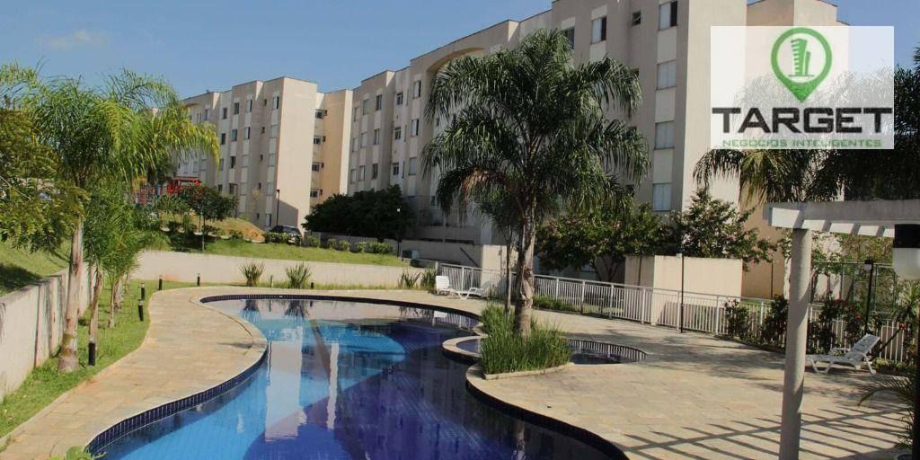 Apartamento com 2 dormitórios à venda, 48 m² por R$ 185.000,00 - Jardim Petrópolis - Cotia/SP