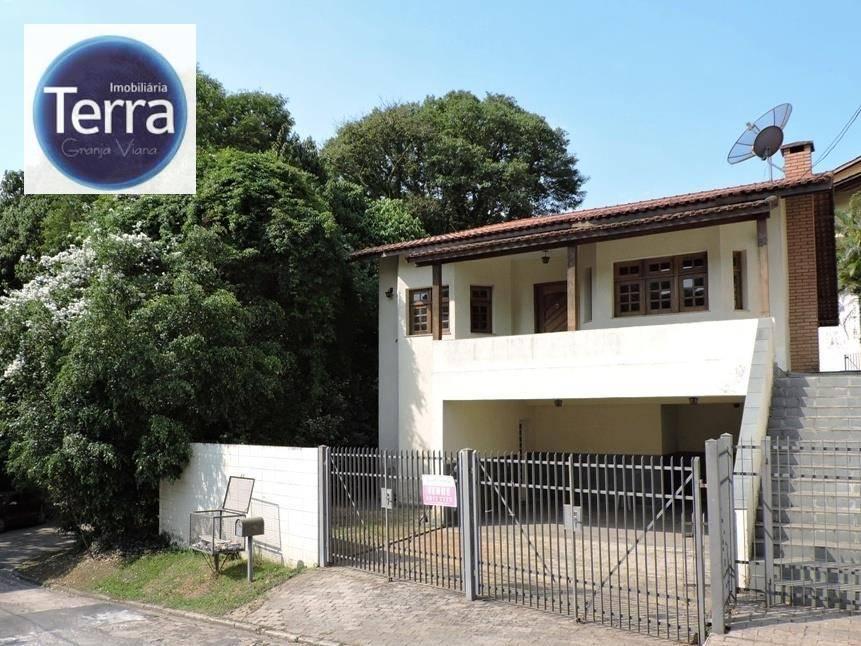 Casa  residencial à venda e locação, Terras do Madeira, Granja Viana.