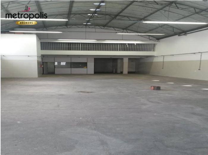 Galpão comercial para alugar, 500 m² por R$ 6.000/mês - Vila Conde do Pinhal - São Paulo/SP