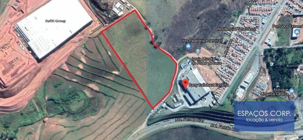 Terreno à venda, 60040m² - Dos Tenentes - Extrema/MG