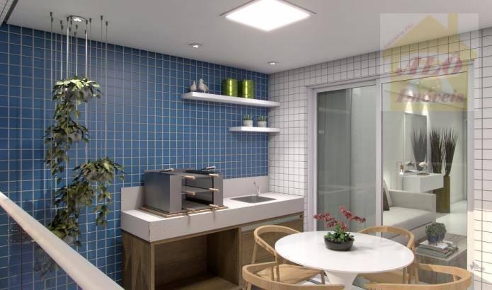 Apartamento à venda, 59 m² por R$ 351.935,00 - Centro - Itanhaém/SP