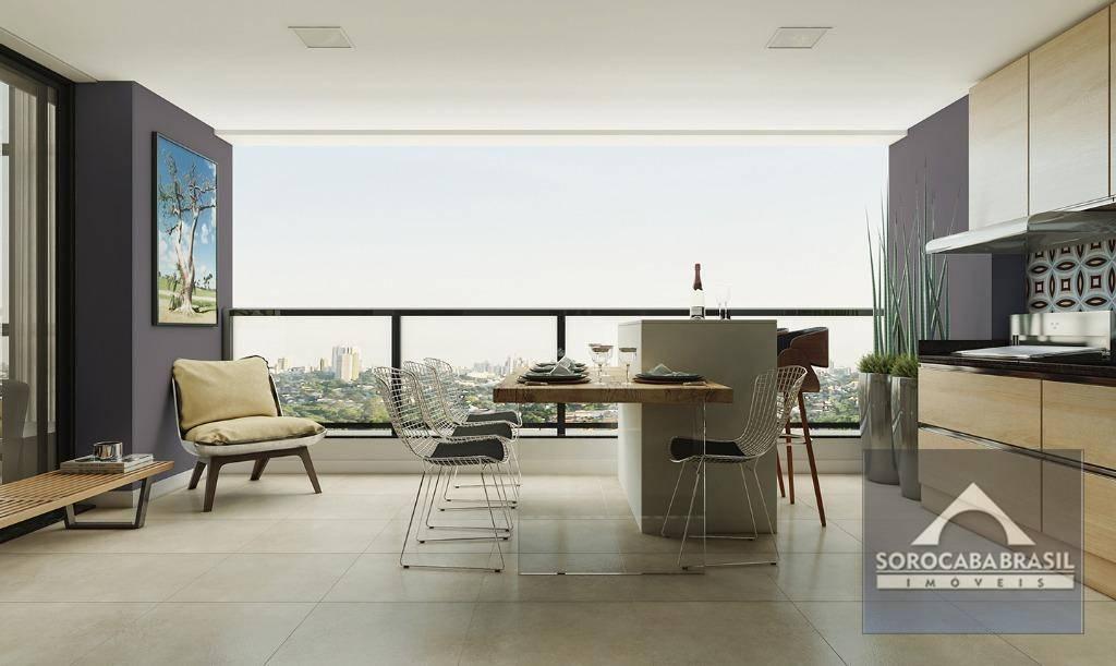 Apartamento com 4 dormitórios à venda, 220 m² por R$ 1.598.000,00 - Edifício Vermont View - Sorocaba/SP