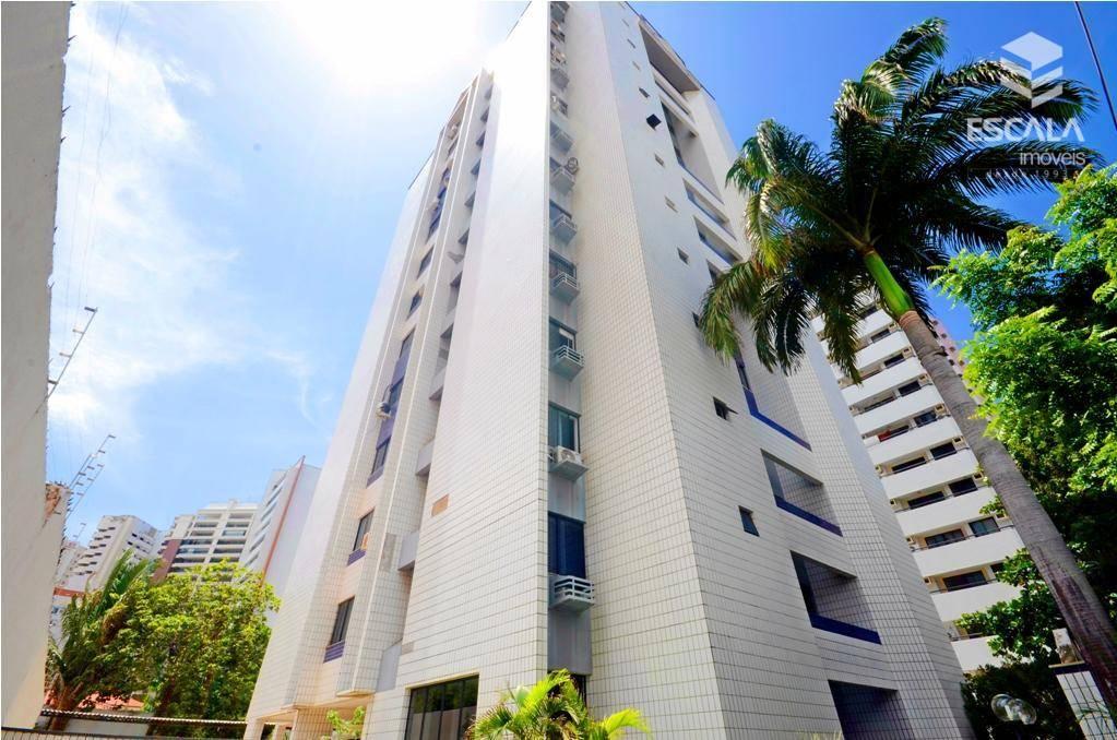 Apartamento com 3 quartos à venda, 116 m², 3 suítes, financia - Cocó - Fortaleza/CE