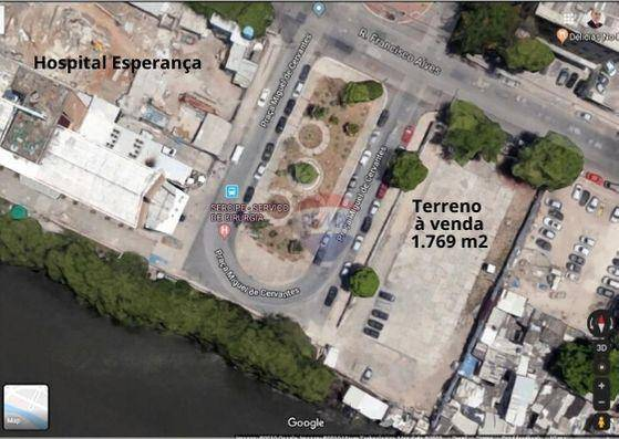 Terreno à venda na Ilha do Leite em frente do Hospital Esperança